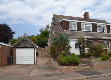 Thumbnail 3 bed semi-detached house for sale in Greenpark Road, Exmouth