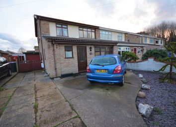 Thumbnail 3 bed semi-detached house for sale in Bramfield Road, Lowestoft