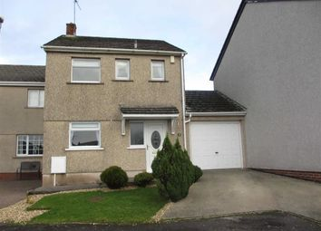 Thumbnail 3 bed link-detached house to rent in Rowntree Crescent, Moresby Parks, Whitehaven