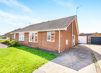 Thumbnail 2 bed semi-detached bungalow for sale in Dowsing Way, Skegness