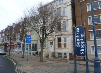Thumbnail 1 bed flat to rent in Palmerston Road, Southsea
