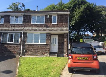 Thumbnail 3 bedroom semi-detached house to rent in Peebles Close, Lindley, Huddersfield