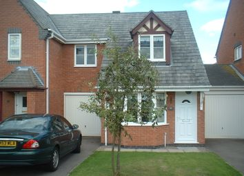 Thumbnail 3 bed semi-detached house to rent in Kingfisher Road, Mountsorrel