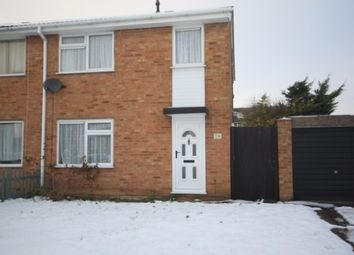 Thumbnail 3 bed semi-detached house to rent in Bembridge Gardens, Luton