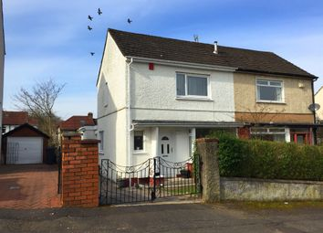 Thumbnail 2 bedroom semi-detached house for sale in Duncrub Drive, Bishopbriggs, Glasgow