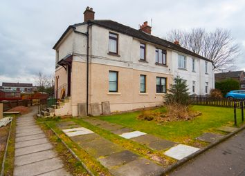 Thumbnail 3 bed flat for sale in Johnston Avenue, Stenhousemuir