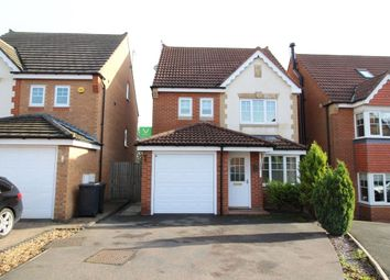 Thumbnail 4 bed detached house for sale in Coppice Mount, Crook