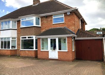 Thumbnail 3 bed semi-detached house to rent in Woodford Avenue, Castle Bromwich, Birmingham