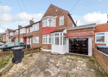 Thumbnail 3 bed end terrace house for sale in Durants Park Avenue, Enfield, London