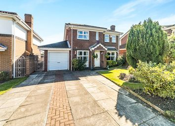 Thumbnail 4 bed detached house for sale in Moss Crescent, Ryton