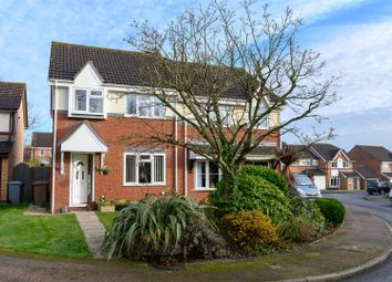 Thumbnail 3 bed semi-detached house for sale in Ireton Close, Thorpe St. Andrew, Norwich