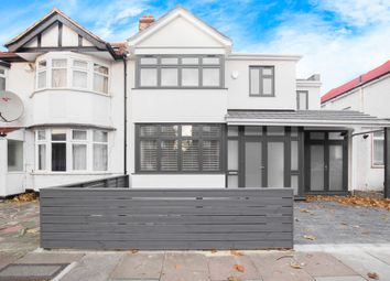 Thumbnail 4 bed semi-detached house to rent in Burnley Road, London