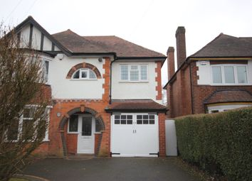Thumbnail Detached house to rent in Thornby Avenue, Solihull