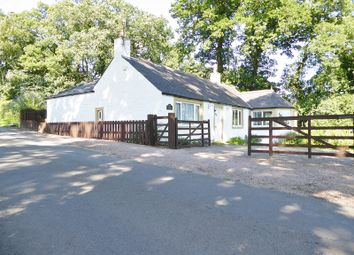 Thumbnail 4 bed detached bungalow for sale in Glebehead Cottage Johnstonebridge, Lockerbie, Dumfries And Galloway.