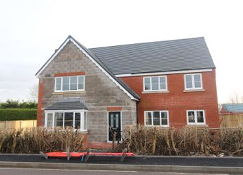 Thumbnail 5 bed detached house for sale in Ivory House, Willowbank Meadows, Hengoed, Oswestry