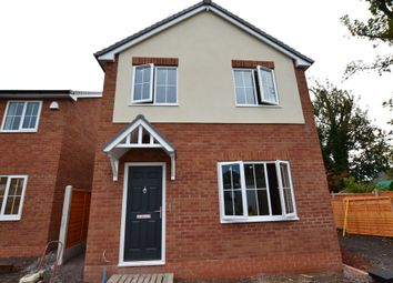 Thumbnail 3 bed detached house for sale in Christchurch Lane, Market Drayton