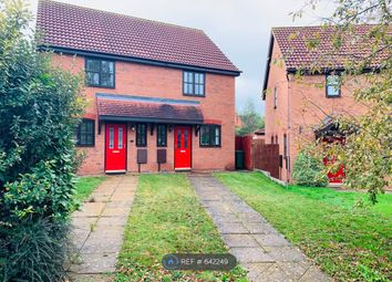 Thumbnail 2 bed semi-detached house to rent in Welsummer Grove, Milton Keynes