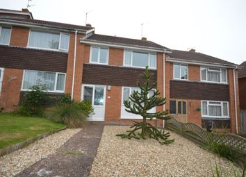 Thumbnail 3 bedroom terraced house to rent in Linden Close, Exmouth