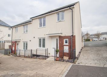 Thumbnail 3 bedroom semi-detached house for sale in Whitehaven Way, Plymouth