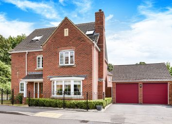 Thumbnail 5 bed detached house for sale in Causton Road, Beggarwood, Basingstoke