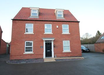 Thumbnail 5 bedroom detached house for sale in Peregrine Road, Hucknall, Nottingham