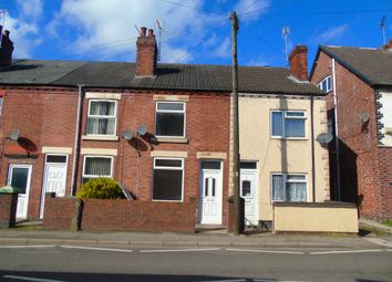 Thumbnail 2 bed terraced house to rent in Leabrooks Road, Somercotes, Alfreton