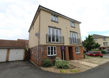 Thumbnail 4 bed semi-detached house for sale in Blanchland Circle, Milton Keynes