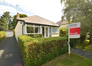 Thumbnail 3 bed detached bungalow for sale in Belmont Grove, Rawdon, Leeds, West Yorkshire