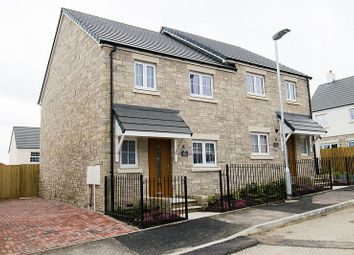 Thumbnail 3 bedroom semi-detached house to rent in Hermes Avenue, St. Erme, Truro