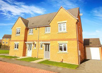 3 bed semi-detached house for sale in Earlsmeadow, Shiremoor, Newcastle Upon Tyne NE27