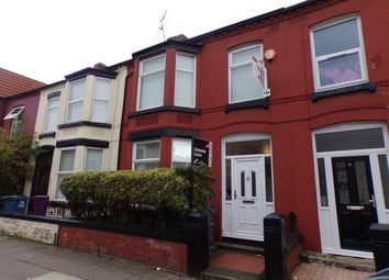 Thumbnail 5 bed terraced house for sale in Alderson Road, Wavertree, Liverpool, Merseyside