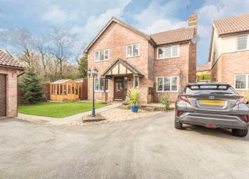 Thumbnail 4 bed detached house for sale in Brynonnen Court, Henllys, Cwmbran