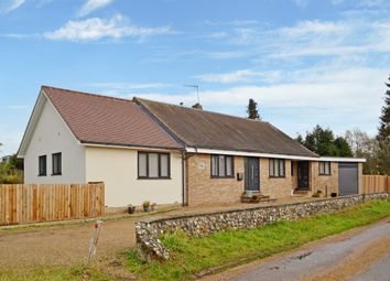 Thumbnail 4 bed detached bungalow for sale in High Road, Wortwell, Harleston