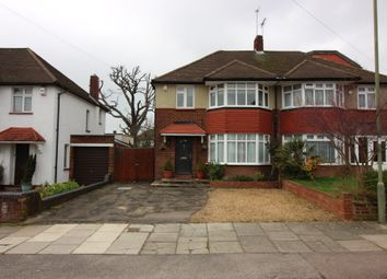 Thumbnail 3 bed semi-detached house for sale in Summit Way, Southgate