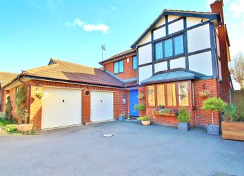 Thumbnail 4 bed detached house for sale in Westfield Close, Rearsby, Leicestershire