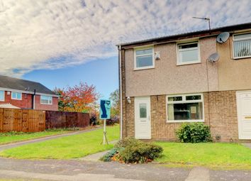 Thumbnail 3 bed end terrace house for sale in Warbeck Close, Newcastle Upon Tyne