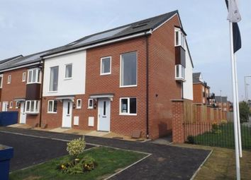Thumbnail 3 bed terraced house for sale in Britannia Gate, Palgrave Road, Bedford