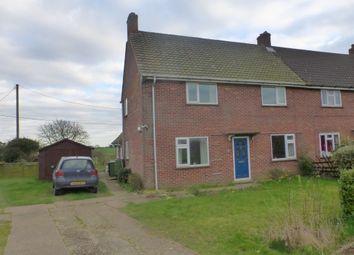 Thumbnail 3 bed semi-detached house for sale in Rectory Road, Rockland All Saints, Attleborough