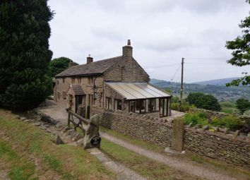 Thumbnail 6 bed farmhouse for sale in Higher Eaves, Martinside, Chapel En Le Frith, High Peak