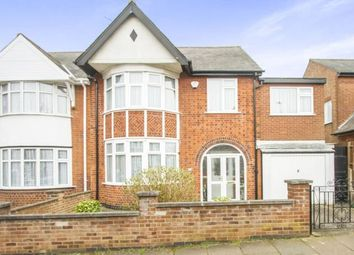Thumbnail 4 bedroom link-detached house for sale in Ashleigh Road, Leicester, Leicestershire