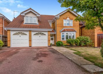 Thumbnail 4 bed detached house for sale in Lexden Close, Wootton, Northampton
