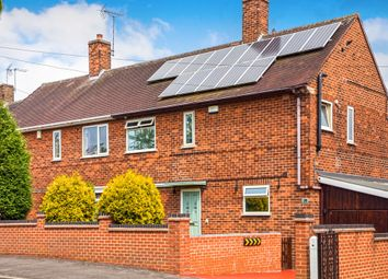 Thumbnail 3 bed semi-detached house for sale in Hanslope Crescent, Nottingham, Nottinghamshire