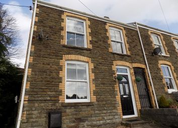 Thumbnail 3 bed end terrace house for sale in Woodview Terrace, Bryncoch, Neath, Neath Port Talbot.