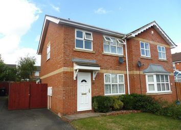 Thumbnail 3 bedroom property to rent in Cross Waters Close, Wootton, Northampton