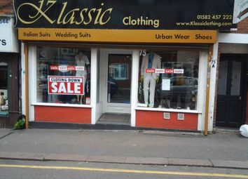 Thumbnail Retail premises to let in Wellington Street, Luton