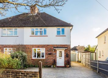 The Crescent, Epsom KT18. 3 bed semi-detached house for sale