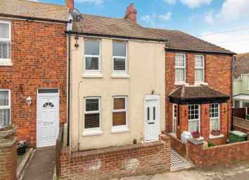 Thumbnail 2 bedroom terraced house for sale in Dudley Road, Folkestone