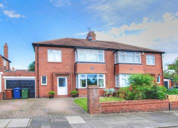 Thumbnail 4 bed semi-detached house for sale in The Riding, Kenton, Newcastle Upon Tyne