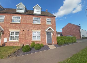 Thumbnail 1 bed semi-detached house to rent in Roeburn Way, Spalding
