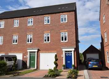 Thumbnail 3 bed town house for sale in Snowgoose Way, Newcastle-Under-Lyme
